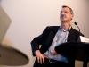Rudolf Burger, Vize-Chefredaktor <<Der Bund>>, am 17. Berner Medientag im Kornhausforum Bern zum Thema <<Hilfe die Zurcher kommen! Wie weiter nach dem Tamedia-Deal?>>. (C) Daniel Bernet