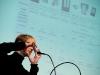This Born (Berner Zeitung) am 19. Berner Medientag zum Thema <<Ausgepresste Presse - ist die abonnierte Zeitung am Ende?>> im Radiostudio Bern.