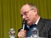 Ueli Eckstein (Espace Media Groupe) am 19. Berner Medientag zum Thema <<Ausgepresste Presse - ist die abonnierte Zeitung am Ende?>> im Radiostudio Bern.